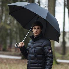 Luxusní deštník Cachemir Gentleman - partnerský holový deštník Business Help, Canada Goose Jackets, Winter Jackets, Umbrellas, Winter Coats
