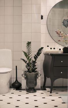 Inredningshjälpen » Tjuvkika in i vårt nya badrum