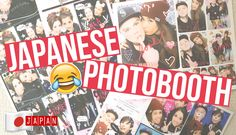HILARIOUS JAPANESE PHOTO BOOTH!