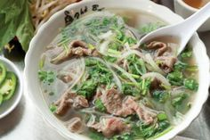 Seattle's favorite soup is pho. Best weapon against an oncoming cold.