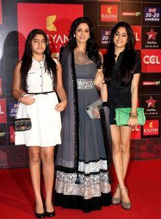 Monalisa Sarees - Sridevi Grey Long Anarkali Dress
