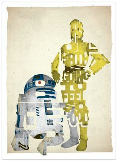 star wars quotes | The post Star Wars posters made from classic quotes appeared first on ...