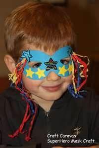 Super Hero Mask Craft
