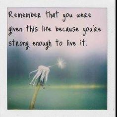 I get a little bit stronger..