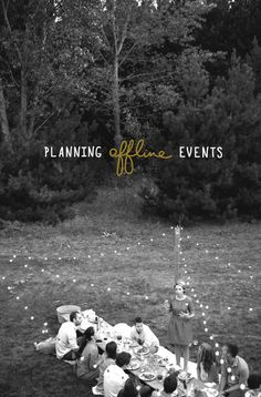 How to plan offline events as a blogger |  The Fresh Exchange