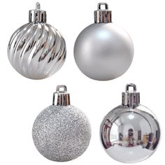 24 pcs Christmas Tree Balls Ornament Shatterproof Xmas Decorations Holiday Decor #Kistore