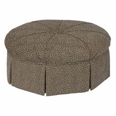 Accent Chairs Round Ottoman by Kincaid Furniture