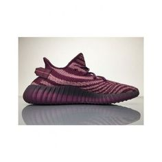 897956c1df5c0 Adidas Yeezy Boost 350 V2 Red Night Purple Pink B37573