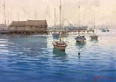 Joseph Zbukvic watercolor