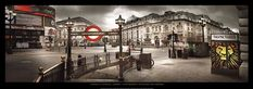 Piccadilly Circus, London Fine-Art Print by Stephanie Rey-Gorrez at…