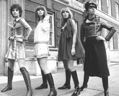 Linda Keith, Chrissie Shrimpton, Suki Poitier, Annie Sabroux.