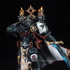 Warhammer Paint, Warhammer Models, Warhammer 40000, Eternal Crusade, Warhammer Imperial Guard, Cool Swords, Imperial Fist, Tyranids, Knight Armor