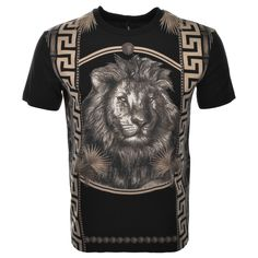 Versus Versace Lion Logo T Shirt Black  - that should be mine!