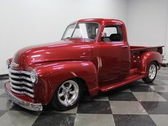 1952 Chevrolet Other Pickups Custom CUSTOM, CORVETTE REAR-END, 350 V8, AUTO, A/C, 4 WHEEL DISCS, VERY NICE PAINT!!Pickup trucks are just a popular segment in the classic car hobby as muscle cars are, and the early 50's Chevy 3100 is certainly one of the higher demand pickups to have. This 1952 Chevrolet 3100 brings traditional style and major custom touches to a package that is appealing enough to show or cruise around town in.