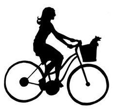 Papercut Template - Bike Ride