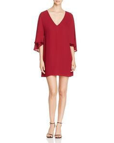 cupcakes and cashmere Suki Cape Dress