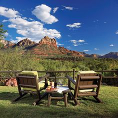 Incredible views in a romantic setting at L'Auberge de Sedona