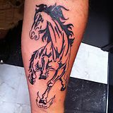 The HELL PONY!!! By Eric, Ink Sling Studio, Jeff City, MO - Imgur