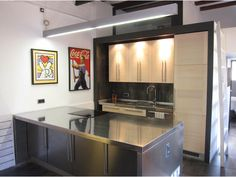 American style Kitchen in Barcelona