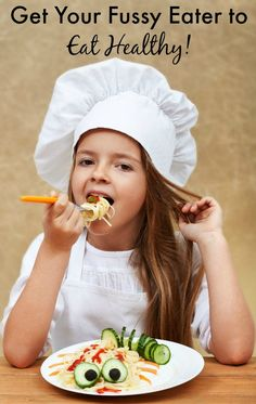 Got a picky eater? Here are 7 simple tips and ideas for getting your fussy eater to eat healthy. #3 is my favorite!
