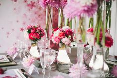 WedLuxe – The Painted Blossom | Photography by: Wedding Editorials  Follow @WedLuxe for more wedding inspiration!