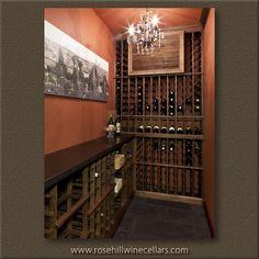 Beautiful #winecellar from Rosehill Wine Cellars #winestorage experts #wine #winelover
