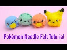 Chubby Pokemon Needle Felt Tutorial - Kawaii Needle Felting