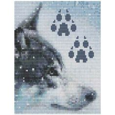bead patterns | Wolf Bead Pattern Loom Or Peyote by Outoftheflames on Etsy by JypzJewelz