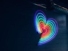 Rainbow Heart photo by Matias Rengel ( on Unsplash Wallpaper Rosa, Couple Wallpaper, Heart Wallpaper, Love Wallpaper, Iphone Wallpaper, Rainbow Wallpaper, Nature Wallpaper, Photography Jobs, Photography Courses
