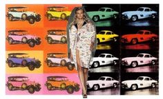 Prada car pop art