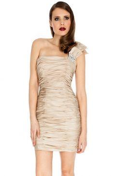 Jedinečné spoločenské krátke šaty nad kolená – Ruched Diamante Trim Prom, Dresses, Fashion, Senior Prom, Vestidos, Moda, Fashion Styles, Dress, Fashion Illustrations