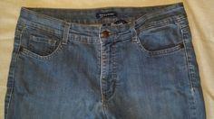 Womens Bandolino Caroline Size 10 Blue Jeans #Bandolino #StraightLeg
