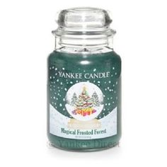 Yankee Candles UK | Yankee Candle Magical Frosted Forest Large Jar