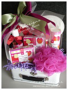 Custom Spa Gift Basket for Her