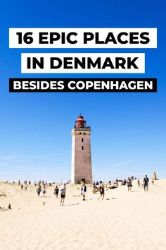 16 Epic places in Denmark, besides Copenhagen. 16 Dream Destinations in Denmark you need to visit, besides Copenhagen. Denmark has so many historic and beautiful places to go to. Copenhagen may… Europe Travel Tips, European Travel, Travel Destinations, Travel Goals, Visit Denmark, Denmark Travel, Denmark Food, Cool Places To Visit, Places To Travel