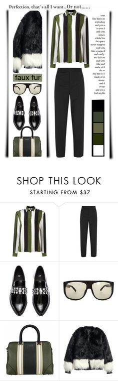 """""""Perfection or not............."""" by emcf3548 ❤ liked on Polyvore featuring MSGM, Marni, H&M, Linda Farrow, Givenchy and Privé"""
