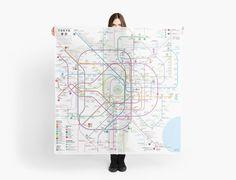 Tokyo metro map by Jug Cerovic