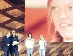 #GiovanniMalago, Presidente del #Coni, #AriannaErrigo, campionessa di #scherma, e #AriannaFontana, #pattinatrice #Italia2015 #raiexpo #expoidee #expo2015 #italia #worldfair #firenze