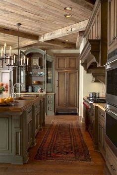 40+ amazing french country kitchen modern design ideas (22)