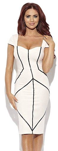 The Kim: Could this £70 Kim White dress be a nod to the famous Kardashian
