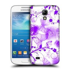 Case Fun Purple Butterflies Snapon Hard Back Case Cover for Samsung Galaxy S4 Mini i9190 -- Check out the image by visiting the link.