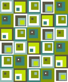 Off-centred squares quilt pattern | Fresh Lemons Modern Quilts