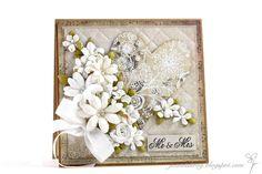 Joanna: Mr & Mrs Anniversary Cards, Wedding Anniversary, Mr Mrs, Flower Cards, Wedding Cards, Crafty, Engagement, Poland, Frame