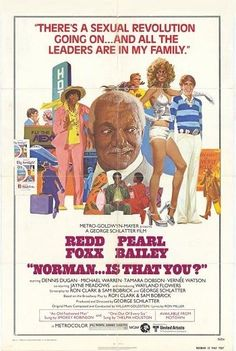 Original blaxploitation poster (27x41) from the 70's. NORMAN IS THAT YOU? -orig 27x41 movie poster REDD FOXX