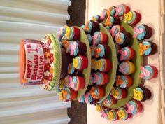 Winnie the Pooh Cupcake Tower