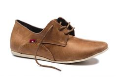 Women's Leather Shoes | Fair Trade Certified Shoes - Oliberte | MINSHA Rustic Brown Pullup