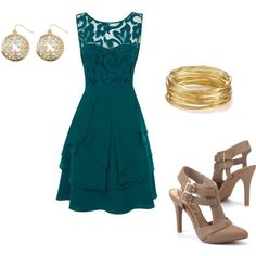 """Teal"" by daddys-rose on Polyvore"