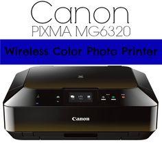 Canon PIXMA MG6320 Wireless Color Photo Printer, Scanner & Copier #Canon