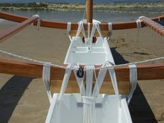 Martijn Nugteren recently launched his meter Ulua double outrigger in the Netherlands. Kayaking Gear, Canoeing, Sailing Kayak, Utility Boat, Wood Canoe, Outrigger Canoe, Cabin Cruiser, Fast Boats, Paddle Boat