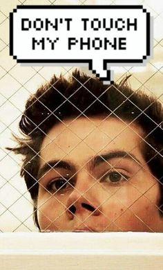 Teen Wolf Stiles lockscreen